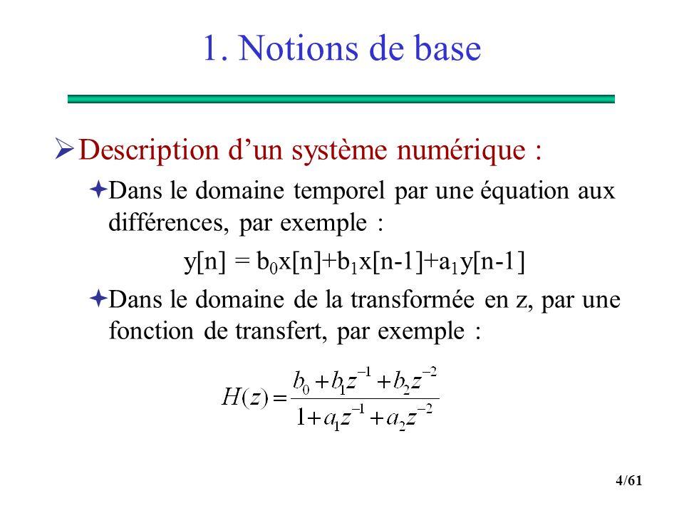 y[n] = b0x[n]+b1x[n-1]+a1y[n-1]